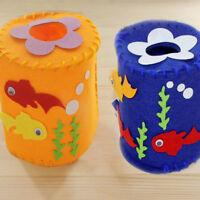 DIY Cartoon Paper Towel Tube Material Package Handmade Kids Educational Toy ~