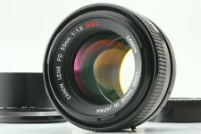 """"""" TOP MINT w/ HOOD"""" Canon FD 55mm F1.2 S.S.C. MF Prime Lens SSC From Japan #379"""