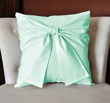 Set of 2pc Bow Pillow Cover All Size & Color 800 TC Egyptian cotton