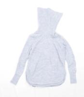Cynthia Rowley Womens Size M Merino Wool Blend Grey Jumper (Regular)