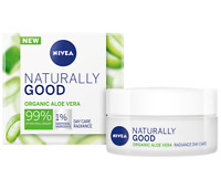 NIVEA NATURALLY GOOD Cream Day Care Radiance Aloe Vera 50ml