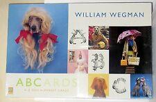 New William Wegman Abcards, A-Z Dog Alphabet Cards