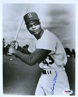Charlie Neal Signed Psa/dna Certified 8x10 Photo Authentic Autograph
