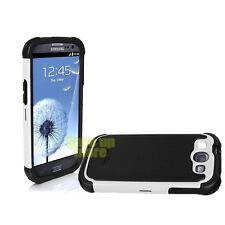 NIB Ballistic SG Rugged Case Cover For Samsung Galaxy S III 3 Black and White