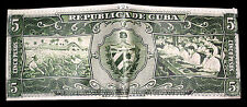 NEW CUBAN PESOS LEATHER WALLET! Cuba Cigars green black men's bifold cartera