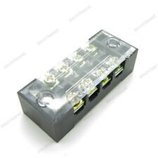 5 × Barrier Terminal Block 15A 600V 4 Pole Position Way TB-1504L for 22-15AWG