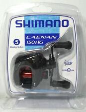 SHIMANO CAENAN 150HG 5 BEARING SYTEM BAITCASTING REEL IN CLAM PACK (CAE-150AHGC)