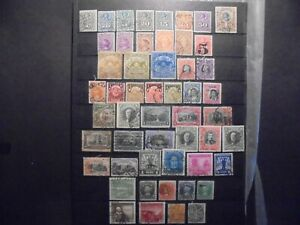 (Okt 142) Chile stamp mix, used