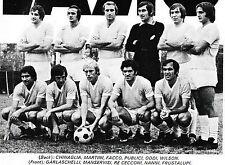 SQUADRA di calcio LAZIO FOTO STAGIONE 1972-73