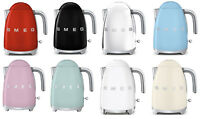 SMEG Retro Style 1.7 L / 7 Cup 1500W Electric Kettle 2018 CHOOSE FROM 8 COLORS