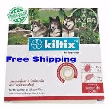 kiltix tick flea control Lasts 5-6 months dog collar Bayer 3X size Lage (L)