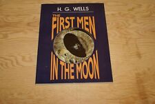 The First Men In the Moon H.G Wells Donning Press Bob Eggleton Signed