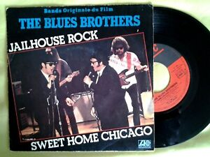 """BLUES BROTHERS   7""""  45 tours  -  jailhouse rock / sweet home chicago"""