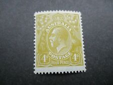 KGV Stamps: 4d Olive Variety Mint   - Must Have   (j338)