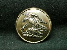 Eagle Attacking Crane Clan Graham Sco. 24mm Gilt Livery Button Firmin 1875-90