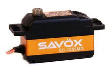Savox SC-1252MG Low Profile Super Speed Digital Servo+2 servo horns