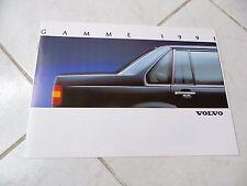 Volvo 960 340 440 480 gamme 1991 catalogue brochure dépliant prospekt catalog