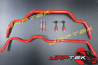 NEW Heavy Duty Front & Rear Sway Bar & Link Set For Nissan S13 180sx Silvia SR20