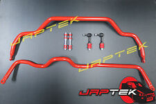 Heavy Duty Front & Rear Sway Bar & Link Set For Nissan S13 180sx Silvia SR20 JDM