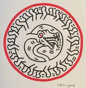 Keith Haring - Pop Art - Original Marker / Paint Drawing (I-V)