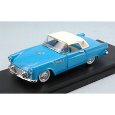 FORD THUNDERBIRD 1956 LIGHT BLUE WITH WHITE SOFT TOP 1:43 Rio Auto Stradali