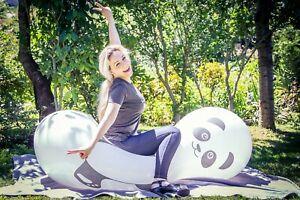 1 x CATTEX Riesen-Puppenballon PANDA + VERSCHLUSS! *DOLL*WHITE*LOONER*