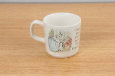 Beatrix Potter Child's Mug Cup Peter Rabbit Flopsy Mopsy Cottontail - Wedgwood