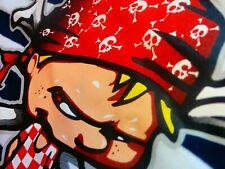 PIRATE OF DUBROVNIK CROATIA T-Shirt UNIQUE AZ NEW CROATIAN NAVY SOUVENIR CLUB