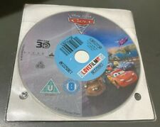 Cars 2 Blu-ray 3D DISC ONLY John Ratzenberger, Bonnie Hunt, Larry EX-Rental
