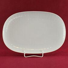 Servierplatte oval 32 cm Hutschenreuther Rendezvous weiß