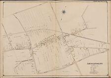 1902 E. BELCHER HYDE, AMAGANSETT, SUFFOLK COUNTY, LONG ISLAND NEW YORK ATLAS MAP