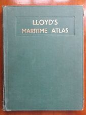 LLOYD'S MARITIME ATLAS - ports & shipping places of the world (first edn, 1951)