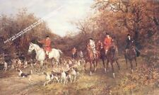 Autumn Hunting Scene by Haywood Hardy Artwork by Selby Prints