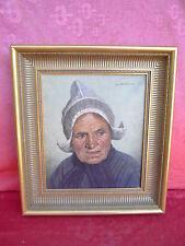 schönes,altes Gemälde__Frau mit Haube__Wilhelm Gdanietz_____!