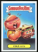 2015 Topps Garbage Pail Kids GPK Serie1 Character Back #55a - COLE CUTS