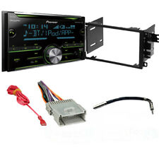 Pioneer 2 DIN SiriusXM Ready Bluetooth In-Dash Receiver CAR STEREO DASH KIT