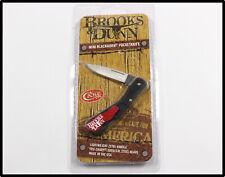 New CASE XX Brooks & Dunn folding knife in original package LOOK NICE