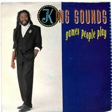 "King Sounds - Games People Play - 7"" Record Single"