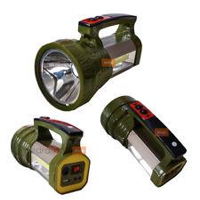 PDR*TORCIA LAMPADA PORTATILE RICARICABILE LED STRIP COB PANNELLO SOLARE 5W BB-00