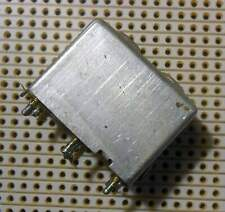 Variable Ferrite Cored Inductor Coils both tapped screened 0.22mH and 0.08mH