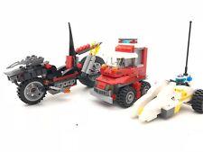 Lego Set of 3 cars vehicles minifigure Mickey Mouse three wheeler, motorcycle