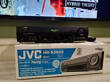 Jvc Vhs/Vcr Hr-S3800U W/ Remote, Av cables, and Box 9.3/10 condition Rare