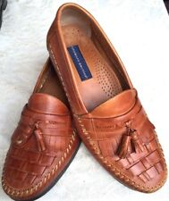 A4- Giorgio Brutini Men's Antigua Tan Leather Loafer Shoes Size 11 M #838