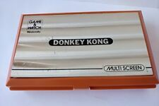 Vintage Nintendo Game & Watch DONKEY KONG Multi Screen Japan/tested-a710-