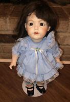 Repro Kestner J.D.K Jr 190 Googly Googlie Doll Bisque Head Made In Germany