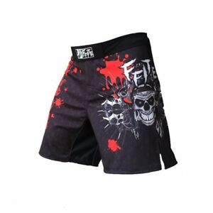 Sharp Looking MMA Shorts That Provide A Great Range Of Motion