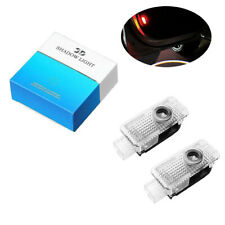 2x Fit For Audi Car LED Door Light Projector Laser Ghost Shadow Logo Puddle Lamp