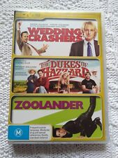 WEDDING CRASHERS/ THE DUKES OF THE HAZZARD/ ZOOLANDER – DVD, 3-DISC SET