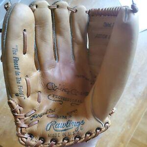 Vtg. 1960s Rawlings Mickey Mantle Professional MM5 Baseball Glove Left Hand