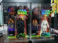 """1 x Star Wars 40th / Celebration Exclusive Black Series 6"""" Carded Acrylic CASE"""